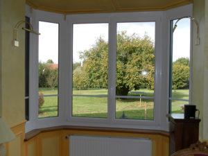 Fenêtre courbe PVC